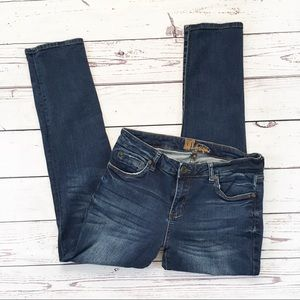 Kut from the Kloth skinny jeans dark size 10